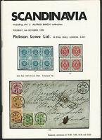 Scandinavia, Robson Lowe Ltd. Stamp Auction Catalog, Oct. 6, 1970