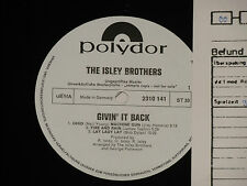 THE ISLEY BROTHERS -Givin' It Back- LP Polydor Promo Archiv-Copy mint
