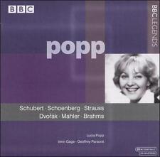 Lucia Popp Sings Schubert, Schoenberg, Strauss, Dvorák, Mahler, Brahms, New Musi
