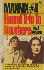 Mannix 4, Round Trip To Nowhere, J T MacCargo - 1975 Paperback, US TV Series