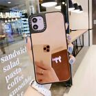 Cell Phone Case Luxury Mirror Mobile Back Cover Skin Makeup Glass Accessories