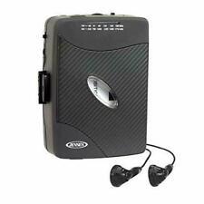 WALKMAN Cassette Player - Jensen Portable TAPE DECK w/ Earbuds - AM FM Radio NEW