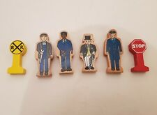 Thomas the tank engine & Friends WOODEN WOOD FIGURES AND SIGNS CHARACTERS