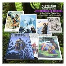 Tirage de Tete Surzhenko La jeunesse de Thorgal Tome 01 Version 01