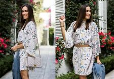 H&M x Anna Glover Oversized Mini Dress White Floral Sleeve Tunic - SOLD OUT
