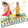 Musikmatte Klaviermatte Klavier Teppich Matte Spielzeug Kindergeschenk 100*36cm