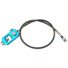 """Hpa tank fill Adapter Scuba Fill Station with 36"""" Spring protector Hose-Blue"""