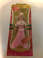 Barbie Princess Clara Ornament Mini Kingdom Nutcracker 2007 J8924 Blond New