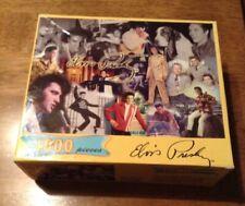 "Vintage Elvis Presley 1000 piece puzzle Signature Product-19 1/4""x 26 3/4"" New"