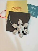 Gorham Sterling Silver Snowflake 1998