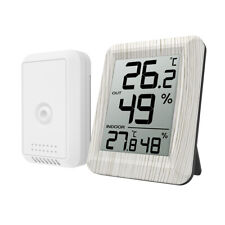 Digital_Lcd Thermometer Hygrometer Home Room Outdoor _Temperature Humidity Meter