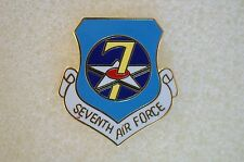US USA USAF 7th Air Force Military Hat Lapel Pin