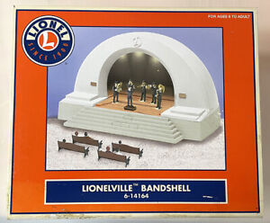 Lionel 6-14164 Lionelville Bandshell MIB / New From Estate Find