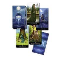 Silber Hexe Tarot Karten - Hexerei Deck Mystischer Magisch Heidnisch - 78