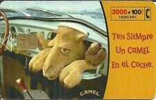 RARE / CARTE TELEPHONIQUE - CAMEL : CIGARETTE TABAC / PHONECARD