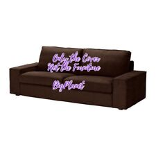 Ikea Kivik 3 Seat Sofa Cover Slipcover Tullinge Dark Brown 002.003.58 NEW
