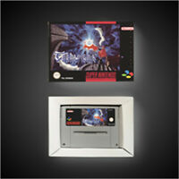 Terranigma - EUR pal Version SNES SUPER NINTENDO BOX