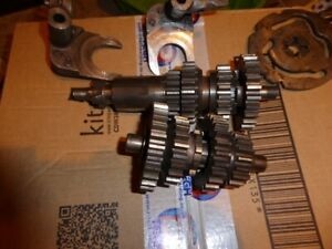 VELOCETTE FULL GEAR CLUSTER, SELECTORS AND CAMPLATE
