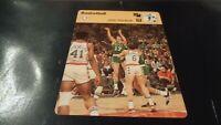 1977 Sportscaster NBA Basketball Card #10-18 John Havlicek - Boston Celtics