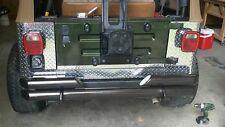 97 -06 JEEP TJ DIAMOND PLATE CORNER GUARDS   3 piece kit  NO HOLES Left & right