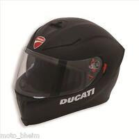DUCATI AGV Helm Helmet Dark Rider V2 mit Sonnenblende schwarz Gr. M S (57)
