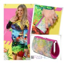 Swarovski Clutch. Evening Bag. Rainbow. Rare Exlusive!! Celebrity Owned !!