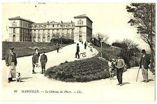 CPA 13 Bouche du Rhône Marseille Le Château du Pharo animé