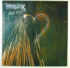 "12"" LP - Warlock - True As Steel - C1755 - washed & cleaned"