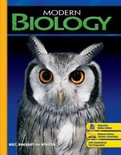 Modern Biology: Student Edition 2006 by HOLT, RINEHART AND WINSTON