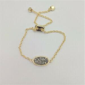 Kendra Scott Beauty Black & White Adjustable Fashion Bracelet