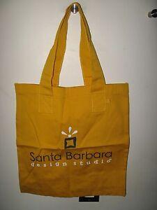 Santa Barbara Design Studio California USA Canary Yellow Canvas Shopping Bag