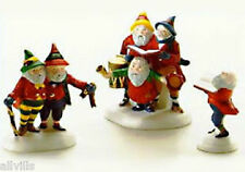 Sing A Song For Santa 5631-6 Set of 3 Retired North Pole Dept 56