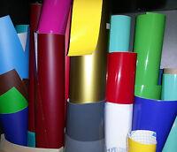 Bastelfolie Modelbau Klebefolie Folie Selbstklebefolie Reste bunt gemischt