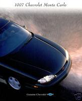 1997 Chevrolet Monte Carlo 26-Page Original Sales Brochure Catalog - Z34