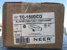 NEER TC150DCG 1-1/2 THD ALUM TC BDY CVR GSKT