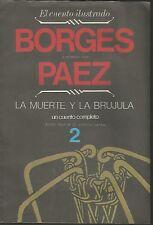 Jorge Luis Borges Book La Muerte Y La Brujula Paez Illustrations