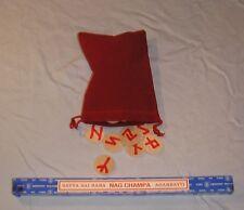 Basic Red RUNES set ---WITH BONUS GIFT ---