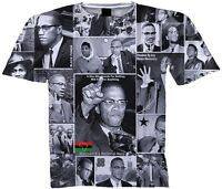 c60493ee Malcolm X Men's L Graphic Tee T Shirt Red Quote Black History Civil ...