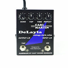 Carl Martin Delayla Vintage Style Tape Echo Analog Delay Guitar Effect Pedal