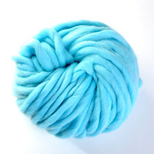 45M Super Soft DIY Knitting Wool Yarn Roving Bulky Chunky Roving Crocheting Hot