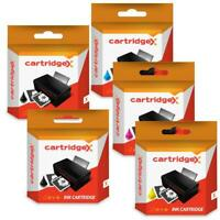 5 Ink Cartridge Set Compatible With HP 364 XL Photosmart Premium All-In-One CB3