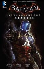 BATMAN: Arkham Knight Genesis by Peter J. Tomasi (2016, Hardcover)