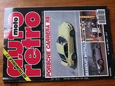 $$ Revue auto moto retro N°79 Porsche Carrera RS  Austin Taxi  Maserati Mistral