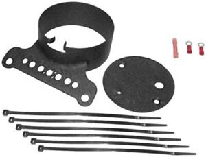 Bikers Choice 169388 Single Gauge Mount Kit (Black) 1995-2005 Harley XL, FXR