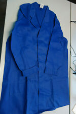 KÜBLER Arbeitsmantel Blau BERUFSKLEIDUNG Arbeitsbekleidung Meistermantel 3XL