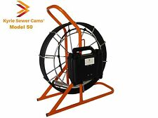 50 foot pipe inspection camera, sewer main inspection, 50 ft