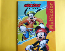 Malbuch für Kinder Disney Mickey & Friends 28x21cm 17 Vorlagen