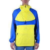 Nike Sportswear Jacket Uomo BV5385 740 Dynamic Yellow Game Royal Black Black