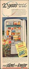 1950-Vintage ad for Servel Gas Refrigerator`Photo`retro (061915)