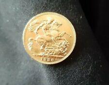 More details for 1928 full gold sovereign king george v  free postage